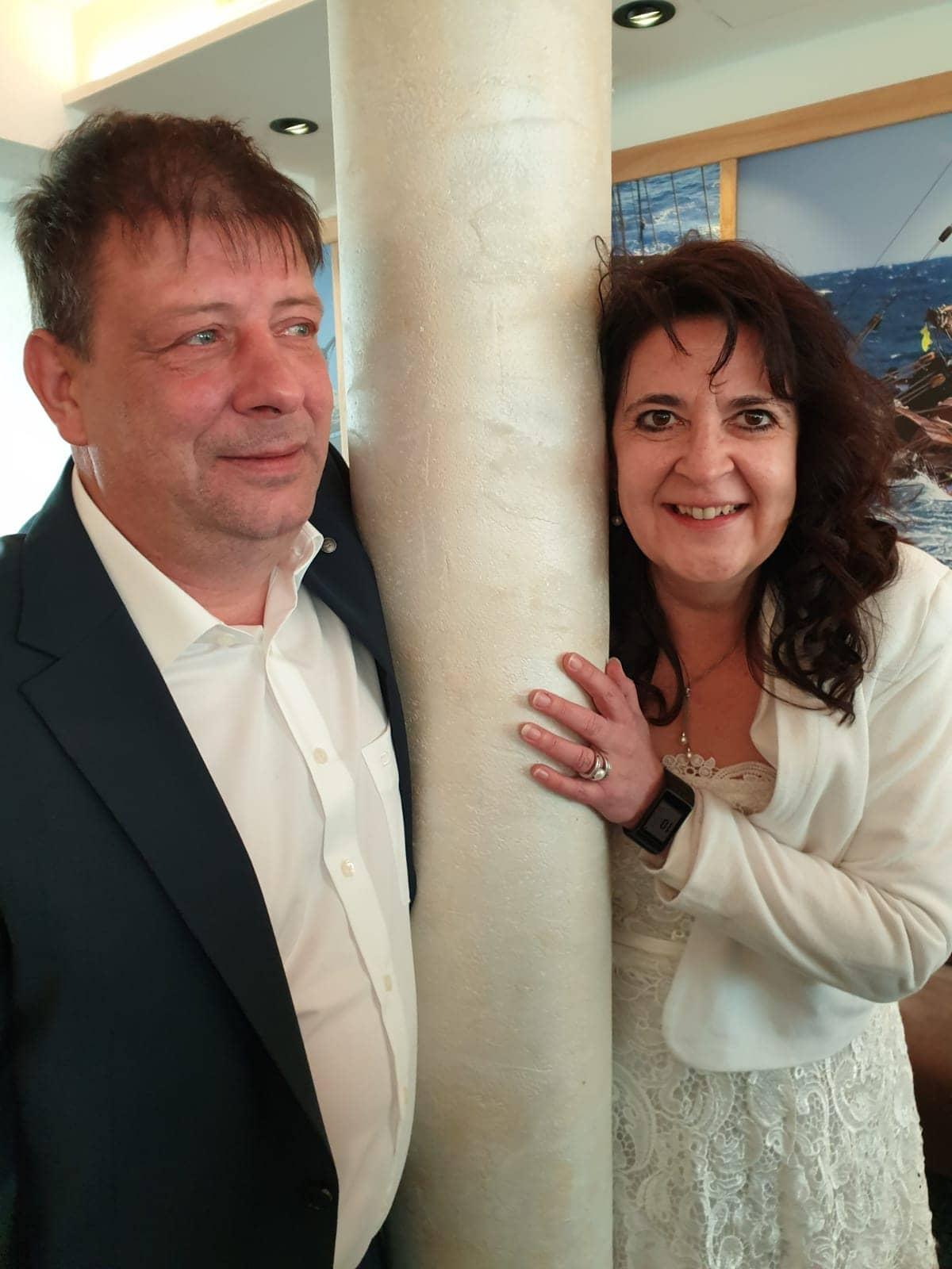 Sonja Giesen mit Ehemann